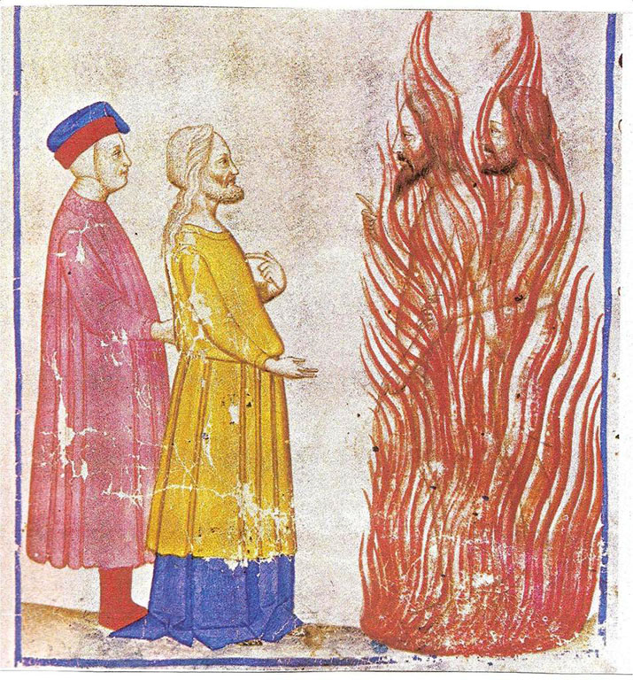 dantes inferno ulysses In dante's inferno and virgil's aenid (books written in favor of the romans and in opposition to the greeks) ulysses is the opposite of homer's portrayal in his book the odysseus (written in favor of the greeks/opposition to the romans).
